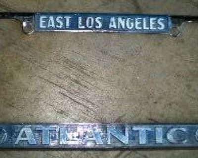 [WTB] East LA Atlantic VW License Plate Frame