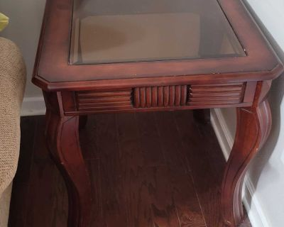 Beautiful Cherry End Tables Very Good Condition