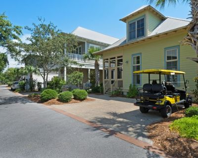 Modern Home w/ Golf Cart, gulf view infinity pool, Tennis, Gym Minutes to Beach! - Dune Allen Beach