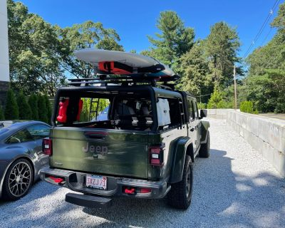 Customer Gets Creative with MAXIMUS-3 JT Overland Bed Rack