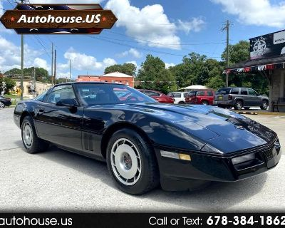 1987 Chevrolet Corvette Coupe with 4+3 manual trans