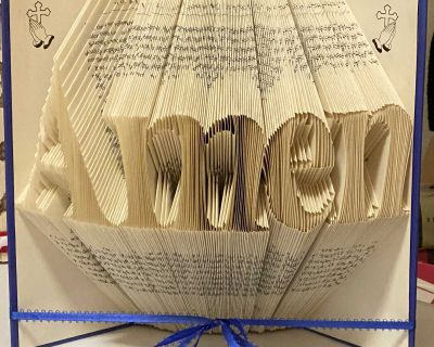 """Bookfold """"Amen"""""""