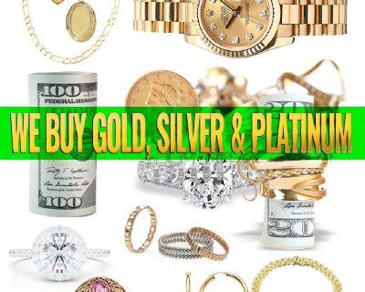 We Offer CASH for GOLD Silver Rolexx Watches Scrap Broken Gold
