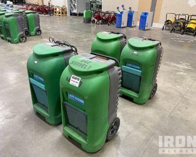 Lot of (4) Dri-Eaz Dehumidifiers