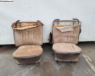 Bug low back seats