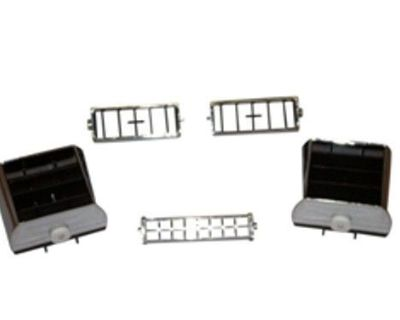 70 Chevelle And El Camino Dash A/c Vents, 2 Outer, 2 Center, 2 Lower