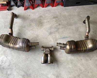 FS: Cayman 981s OEM exhaust
