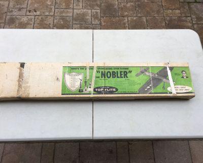 VINTAGE Top Flite Nobler C/L Kit