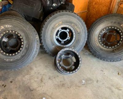 BTR beadlock wheels