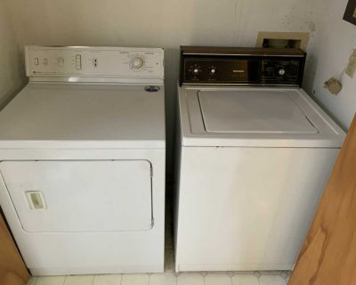 Kenmore Washer and Maytag Dryer Set