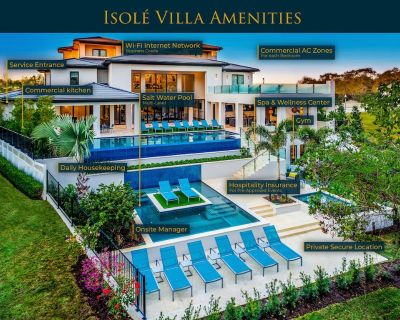 Isol Villas   25,000 sq. ft. Accommodations with World-Class Hospitality - Reunion