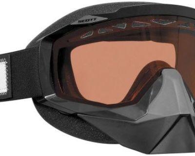 Scott Usa Hustle Black Speed Strap Snowmobile Goggles Snow Winter Quick Strap