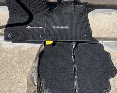 RX350 RX450h OEM Floor Mats