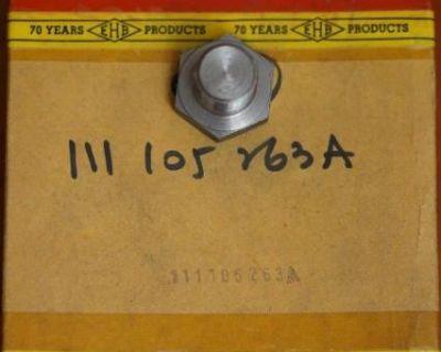 NOS Crankshaft Pulley Bolt EHB (111 105 263 A)