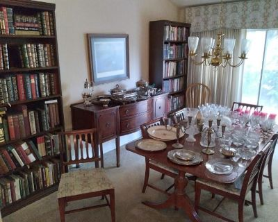 Book Dealer's Collection and Complete Home FULL OF TREASURES