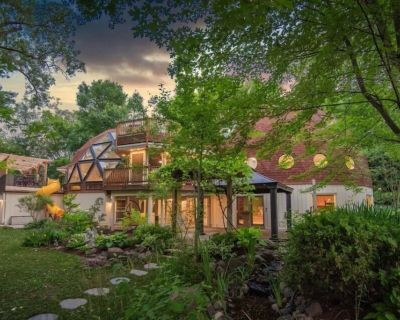 8000 square foot GEODESIC DOMES - the most unique and magical vacation home EVER - Eden Prairie