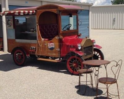Eye-Catching Vintage Style 1915 Model T Ford Replica Concession Food Truck