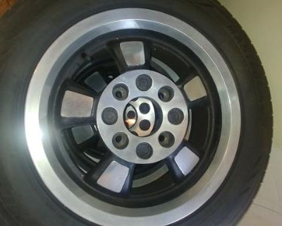 Riviera rims and tires, excellent condition