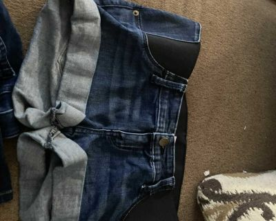 Maternity clothes size small and two