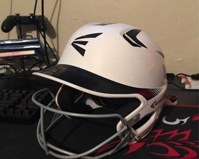 Easton Jr White Helmet
