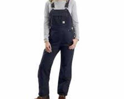 Women carhardt bibs or pants