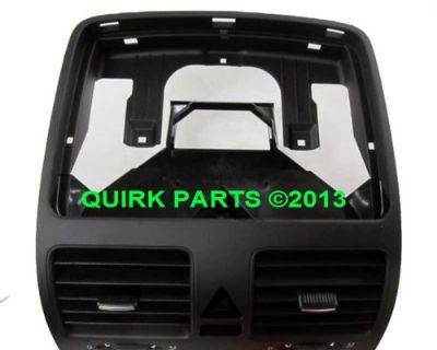 06-10 Vw Volkswagen Jetta Sedan Black Instrument Panel Center Vent Replacement