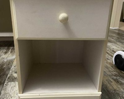 Small kids bedroom side table