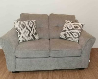 Grey Couch - Loveseat - Sofa