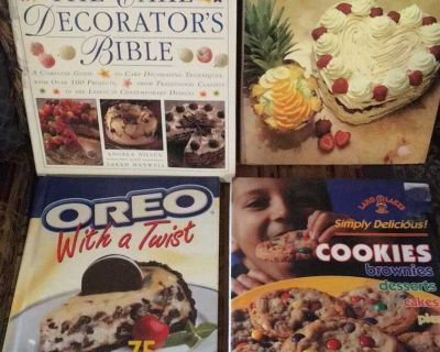 Baking cook books hardcover