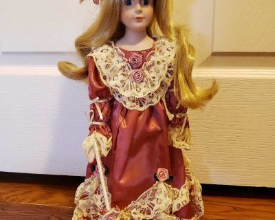Thomco Collection Porcelain Doll