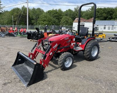 2020 T254 TYM Tractor w/ Loader and Industrial Tires