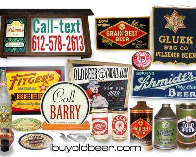 Vintage BEER WANTED