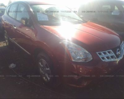 Salvage Red 2011 Nissan Rogue