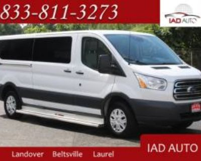 "2016 Ford Transit Passenger Wagon T-350 XLT with Sliding RH Door 148"" Low Roof"