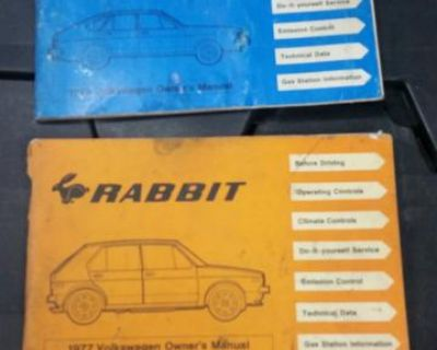 Dasher and rabbit owners manuals