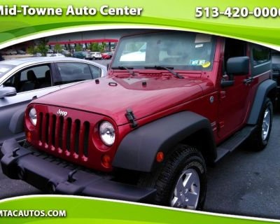 Used 2012 Jeep Wrangler 4WD 2dr Sport