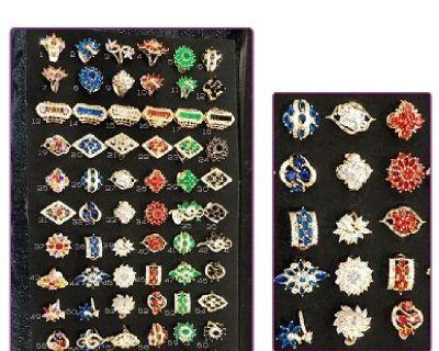 NEW WOMEN 'S CUBIC ZIRCONIA  RING