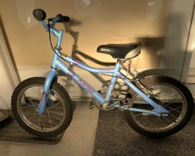 GUC - Kids 16 bike with hand brakes