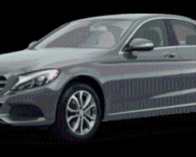 2015 Mercedes-Benz C-Class C 300 Sedan 4MATIC