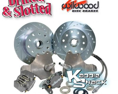 Wilwood Drop Spindle Brakes Drilled & Slotted