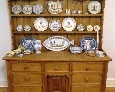 True Estate Sale, Antiques, Quimper, Tools and Everything Else