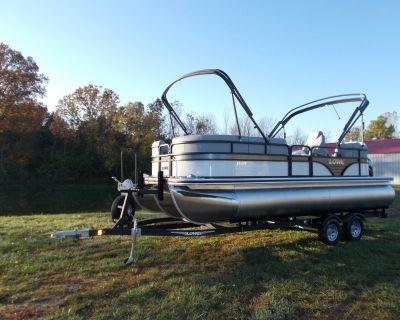 2021 Lowe SS210 WT TL W/ MERCURY 150 PXS & TRAILER Pontoon Boats West Plains, MO