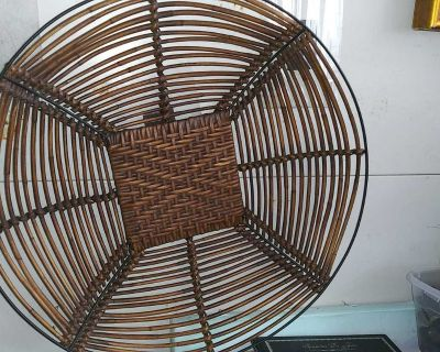 Large Wicker Display Tray