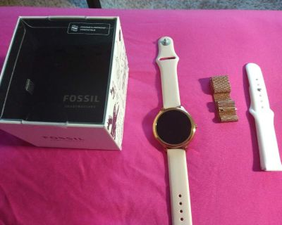 Like New Rose Gold Fossil Smartwatch