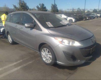Salvage Silver 2014 Mazda Mazda5