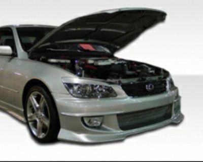 Lexus Is Series 2000-2005 Jdm Front Bumper Body Kit Front