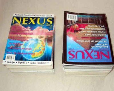 $35 Nexus Magazine Collection 70 Unique Issues 1998 - 2009, Australian