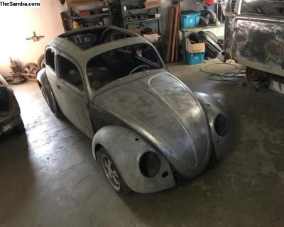 1959 Sunroof Beetle - stalled project