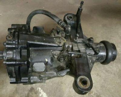 Velvet Drive 72c 1:1 Marine Boat Transmission Gearbox 10-18-014 Borg Warner Tag