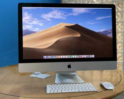 27 5K iMac w/ i5 3.8GHz, 16GB RAM, 2TB HDD